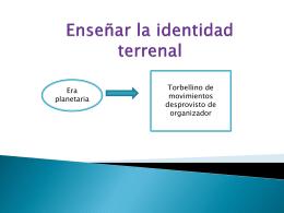 Enseñar la identidad terrenal