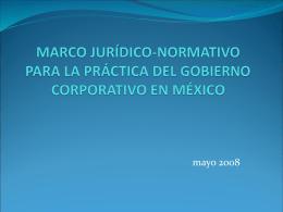 MARCO JURÍDICO-NORMATIVO PARA LA PRÁCTICA DEL
