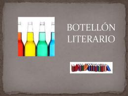 BOTELLÓN LITERARIO