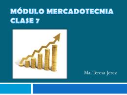 MÓDULO MERCADOTECNIA CLASE 7