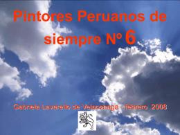 6 PINTORES PERUANOS Nº 6