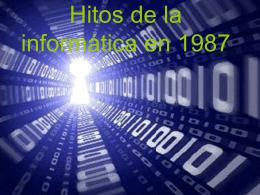 Hitos de la informática en 1987