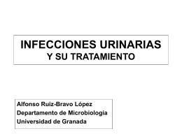 INFECCIONES URINARIAS Y SU TRATAMIENTO