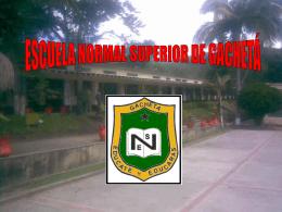 Diapositiva 1 - Investigación Escuela Normal
