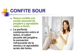 CONFITE SOUR