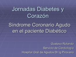 Jornadas Diabetes y Corazón