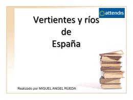 Vertientes y ríos de España