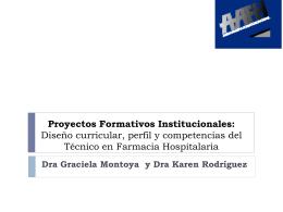 Proyectos Formativos Institucionales: Diseño