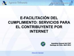 Presentación de la Agencia Estatal de