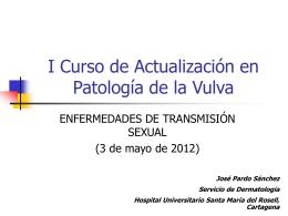 Tema 6.- Enfermedades de transmisión sexual