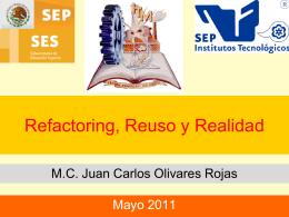 Reestructuración de Códigos