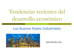 Tendencias recientes del desarrollo económico
