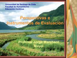 Perspectivas e Instrumentos de Evaluación