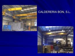 CALDERERIA BON, S.L. - Obralia