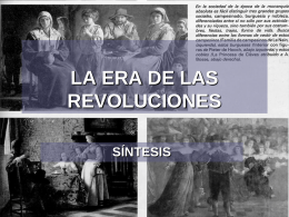TRANSICIÓN DEL ANTIGUO REGIMEN AL LIBERALISMO