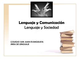 Lengua Castellana y Comunicación Lenguaje y