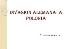 INVASIóN ALEMANA A POLONIA