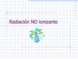Radiación en las actividades laborales
