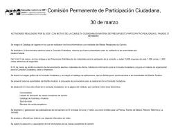 Comisión Permanente de Participación Ciudadana,