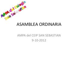 Actividades realizadas Comisión de Accion Social