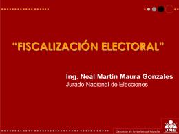 Fiscalización Electoral - Inicio