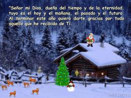 Oracion navideña