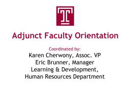 CS Technology - Temple University