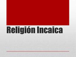 Religión Incaica