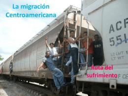 La migración Centroamericana