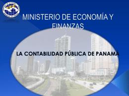 LA CONTABILIDAD PÚBLICA DE PANAMÁ - captac