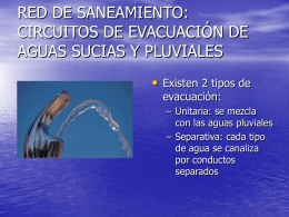 Red pública de distribución de agua