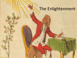 Introduction to the Age of the Enlightenment