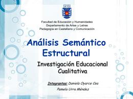 Análisis Semántico Estructural