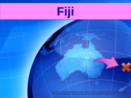 Presentation: Interesting Facts about Fiji