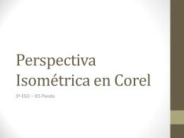 Perspectiva Isométrica en Corel
