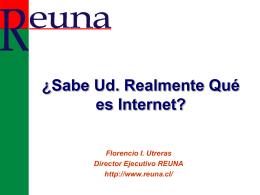Tecnología Internet