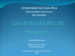 Generalidades de Hongos
