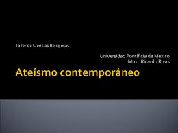 Ateísmo contemporáneo