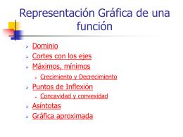 Representación Gráfica de una función