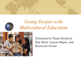 Adding Multicultural Education in Classrooms