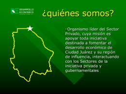 Presentación para el Legislative Border Conference