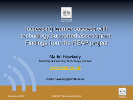 Increasing learner success with technology