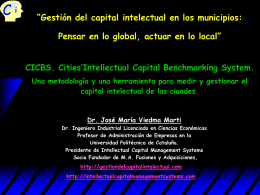 GESTIÓN DEL CAPITAL INTELLECTUAL