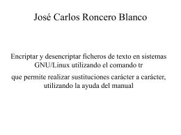 José Carlos Roncero Blanco