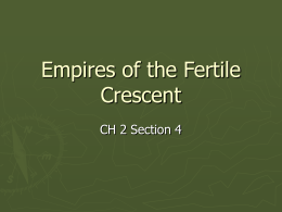Empires of the Fertile Crescent