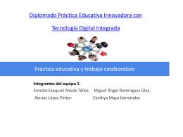 Diplomado Práctica Educativa Innovadora con