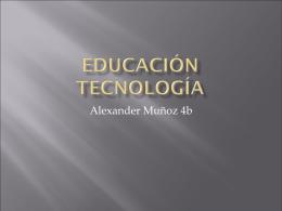 Educación tecnología