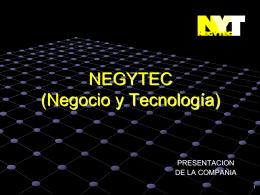 NEGYTEC (NEGocio Y TECnología)