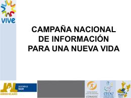 Campaña Nacional de Información para una Nueva