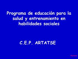 Programa de educación para la salud y